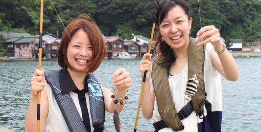 伊根町・魚釣り①