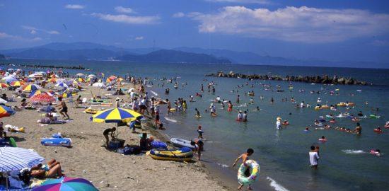 「神崎海水浴場」